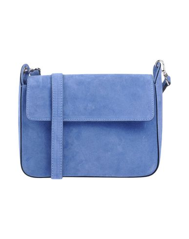 Across bag blue Slate CAMPANE body MANIFATTURE q6T5x