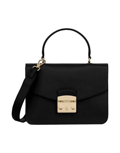 TOP S Black HANDLE FURLA METROPOLIS Handbag qfSE6TZWw