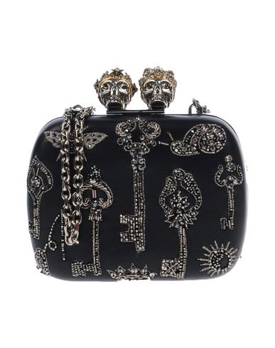 MCQUEEN Black Handbag Handbag Black MCQUEEN ALEXANDER ALEXANDER pSwI74
