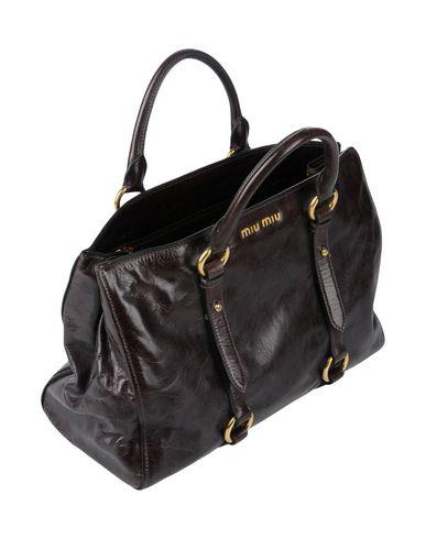 MIU MIU MIU Handbag Dark Handbag MIU brown Dark ttUCqwO
