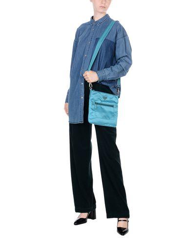 Across bag Turquoise body PRADA Across PRADA gxaq4waE