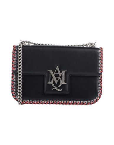 Black MCQUEEN body Across ALEXANDER bag 1TRxUqF