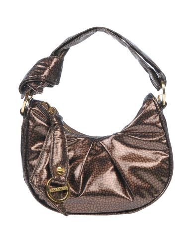 Handbag brown BORBONESE Dark Handbag BORBONESE xqwE0OOg7