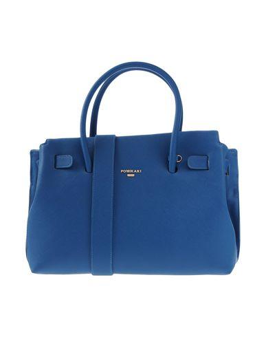 POMIKAKI Handbag POMIKAKI Handbag Blue Blue POMIKAKI 5nx6qEI6Z
