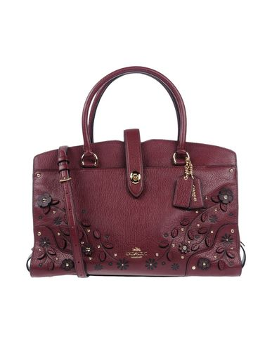 COACH Handbag Handbag Maroon COACH ww0q86