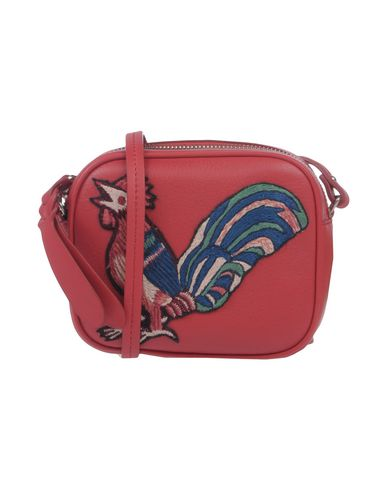 body MCQUEEN Red Across ALEXANDER bag PFqwSvPx