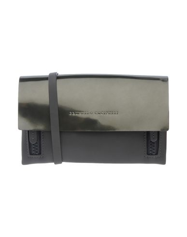 BRUNELLO Steel bag body Across grey CUCINELLI q6xq1ZwS