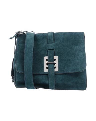FONTANA MILANO 1915 Across-Body Bag in Deep Jade