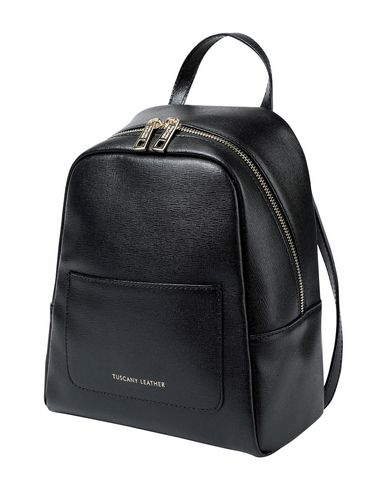 da amp; donna Zaino in Rucksack LEATHER Black pelle bumbag piccolo TUSCANY gxXFBA8qn
