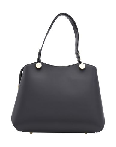 pelle in LEATHER TUSCANY Black mano Borsa Handbag a wPqvgxT7