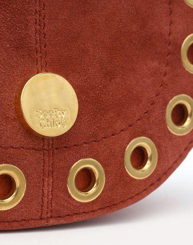 body CHLOÉ BY SEE MINI bag Across Brick HOBO red KRISS g7qwCqR