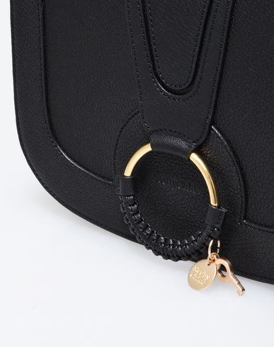 CHLOÉ BY HANA MEDIUM SEE body Across Black bag TqZCw