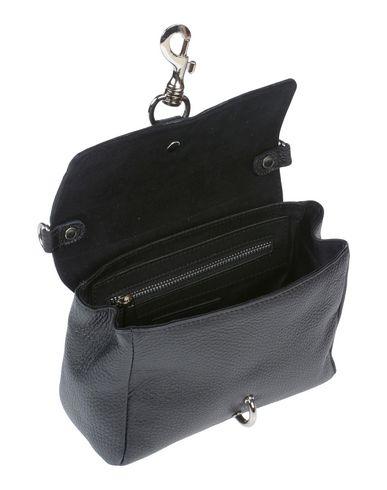 Black WHITE Handbag WHITE 8 IN IN Swxz6p8qU