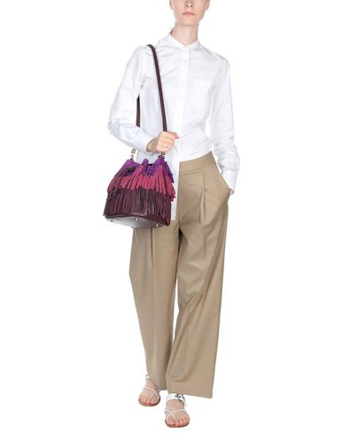 SARA Shoulder BATTAGLIA purple bag Deep 6q6vxrB
