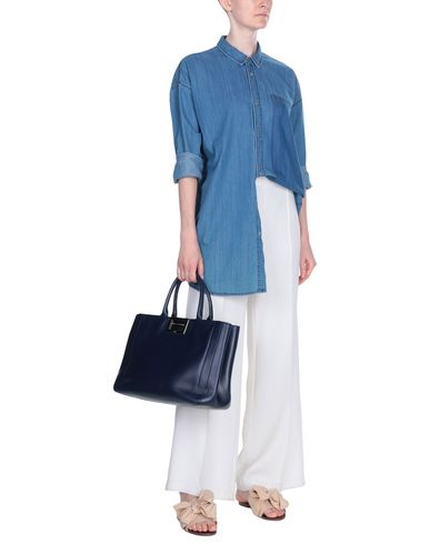 ROGER ROGER VIVIER Dark Handbag VIVIER Dark blue ROGER Handbag blue xXSAqA5