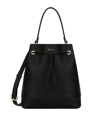 DRAWSTRING FURLA STACY Black M Handbag RxUPYxq