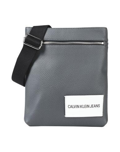 KLEIN bag CALVIN Across body JEANS Grey wvYvz
