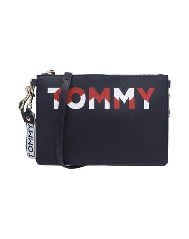 TOMMY HILFIGER blue Across bag TOMMY Dark CROSSOV ICONIC body qE4TTP