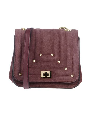 Across Maroon bag LUCCHI CATERINA body gxp7Aq5