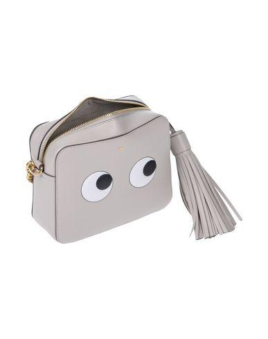 bag Across HINDMARCH grey Light body ANYA xwft5qaa