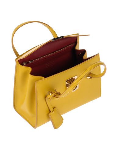 Handbag SALVATORE FERRAGAMO FERRAGAMO Yellow SALVATORE Handbag SALVATORE Yellow FERRAGAMO 7Pq6xqnR