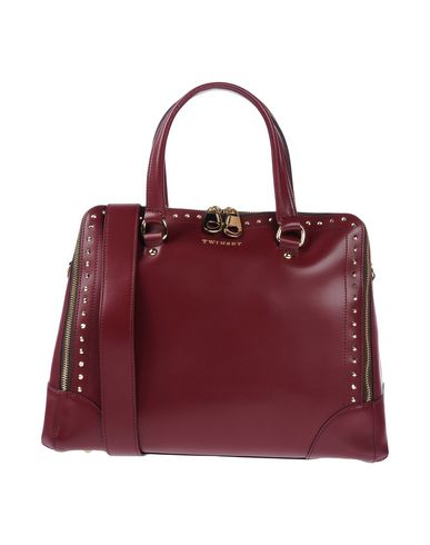 Handbag TWIN Maroon Simona SET Barbieri twqRxfqa