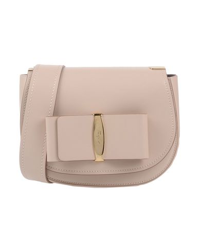 body SALVATORE bag FERRAGAMO pink Across Light 4wgfwx7