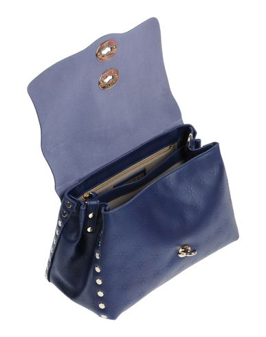 Handbag blue Handbag Handbag Dark blue Dark ZANELLATO Dark Handbag Dark blue ZANELLATO ZANELLATO ZANELLATO AwPqS1t