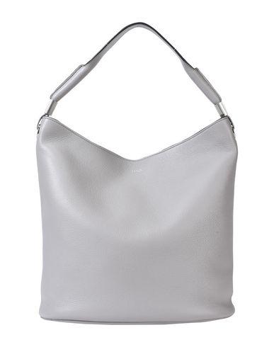 LEATHER Grey FLORE Handbag LANCEL GRAINED wgBnqnvS
