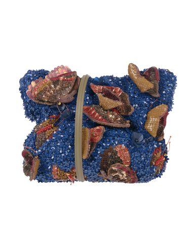 JAMIN PUECH Cross-Body Bags in Dark Blue