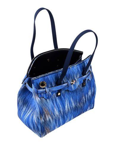des FILLE Blue FLEURS LA Handbag x50WSqzwO