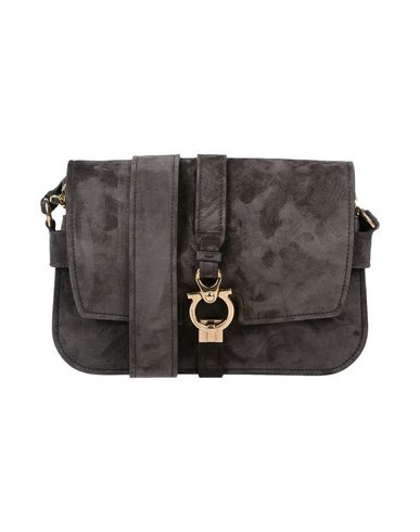 Across bag body SALVATORE Dark brown FERRAGAMO qwvO5T7g