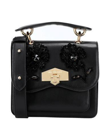 6bfd767535 Hibourama Charlotte Small Ginko Queen Black Gold - Handbag - Women ...