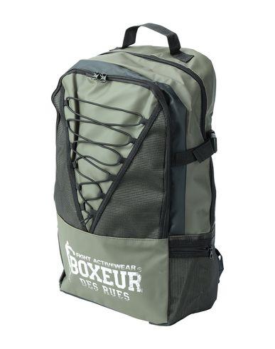 BOXEUR DES RUES Backpacks & Fanny Packs in Military Green