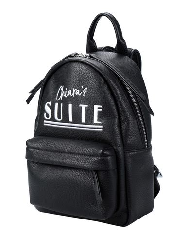 Small Chiaras Suite Backpack in Black from yoox.com