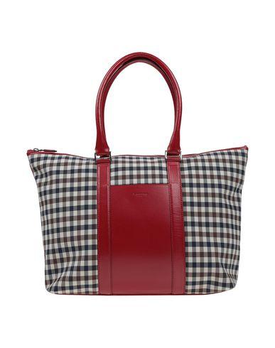 AQUASCUTUM Handbag in Brick Red