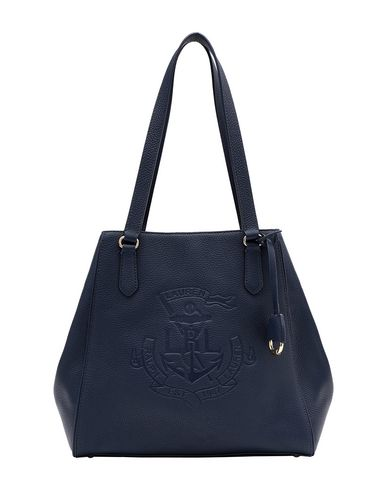 ab2c0a17590 Lauren Ralph Lauren Anchor Leather Tote - Handbag - Women Lauren ...