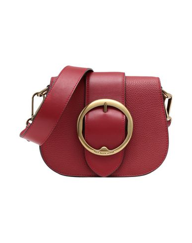 Polo Ralph Lauren Pebbled Leather Lennox Crossbody - Across-Body Bag ... d45eb628045cf