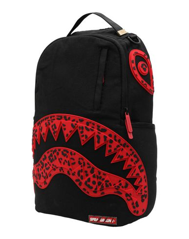 2d9c6ea098f4a8 Sprayground Red Leopard Shark Mouth In Rubber - Backpack & Fanny ...