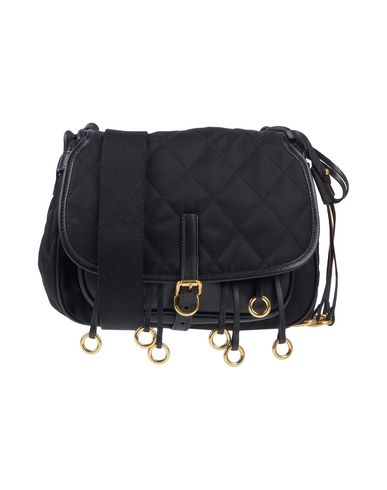 1edbb8c9fa5f90 Prada Cross-Body Bags - Women Prada Cross-Body Bags online on YOOX ...