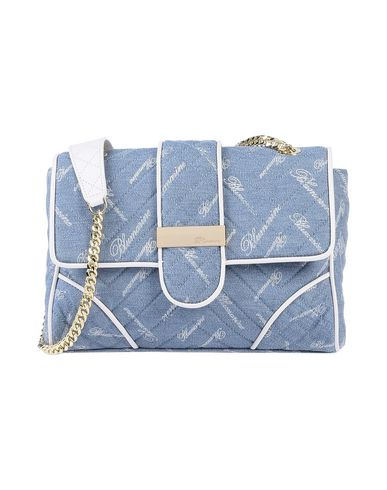 Blumarine Cross-body Bags In Sky Blue