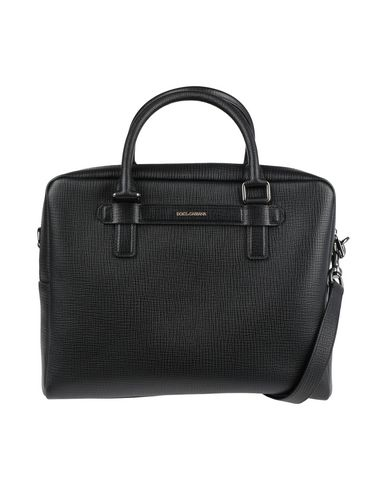 Dolce & Gabbana Leathers Work bag