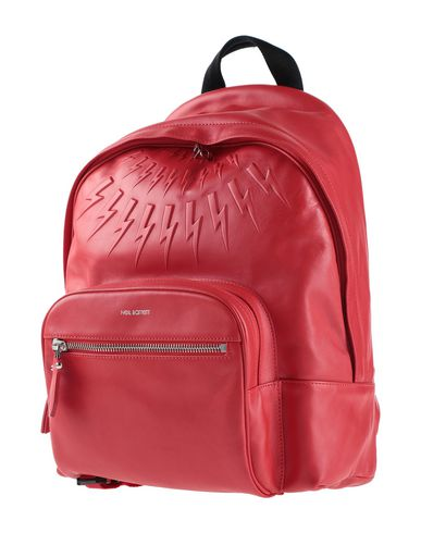 Neil Barrett Backpack & Fanny Pack In Red