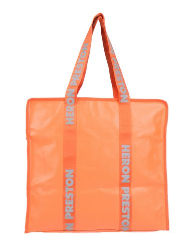 Heron Preston Shoulder Bag In Orange