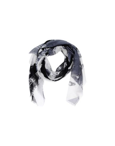 ALEXANDER MCQUEEN Square Scarf in Black