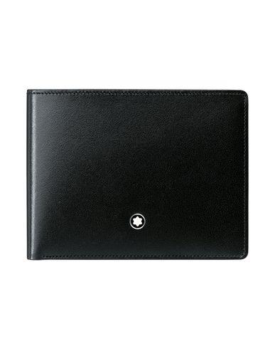 acc9dd6a5c2c3 Montblanc Meisterstück Wallet 6Cc Black - Wallet - Men Montblanc ...