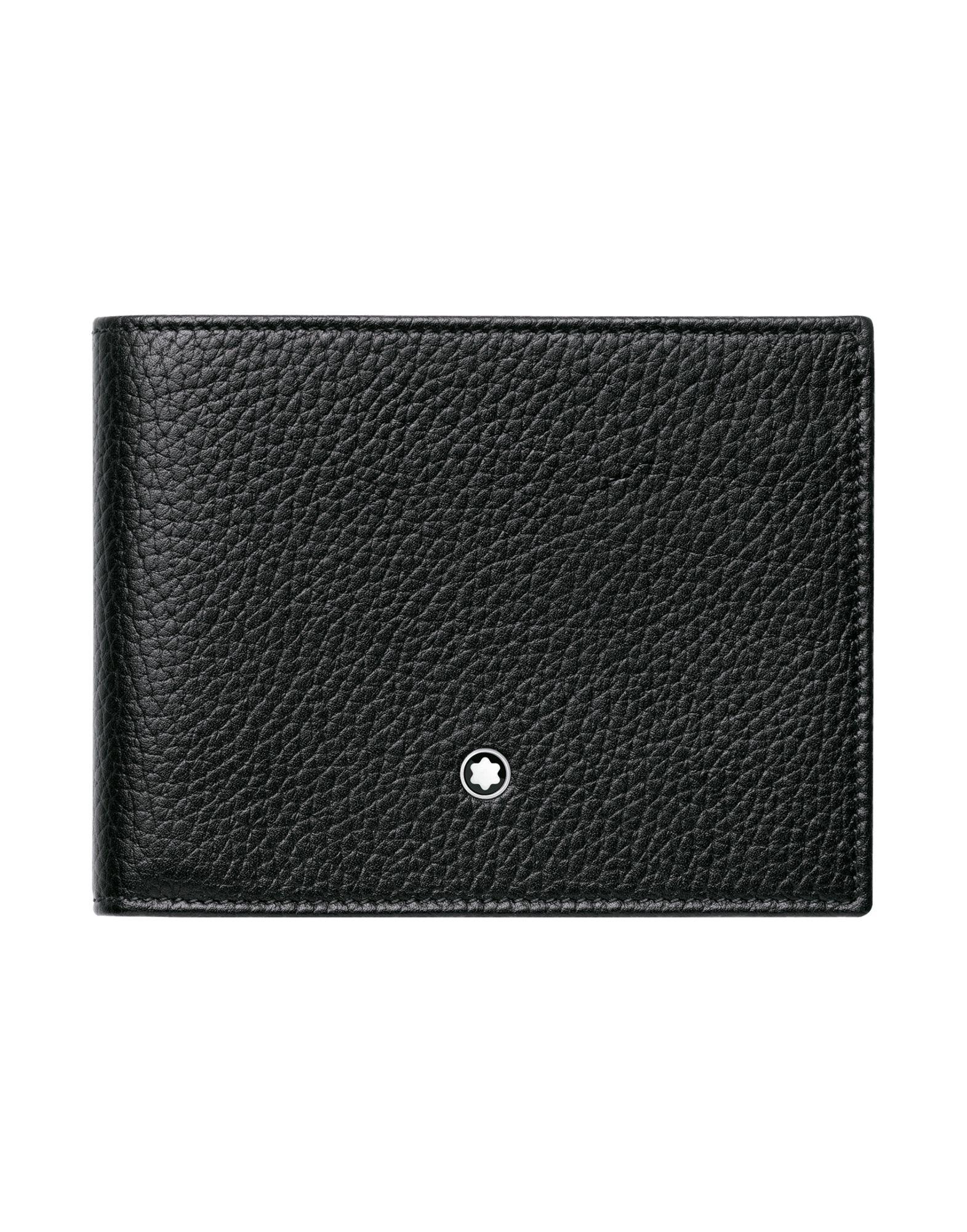 Portafoglio Montblanc Meisterstück Soft Grain Wallet 6Cc Black - Uomo - Acquista online su