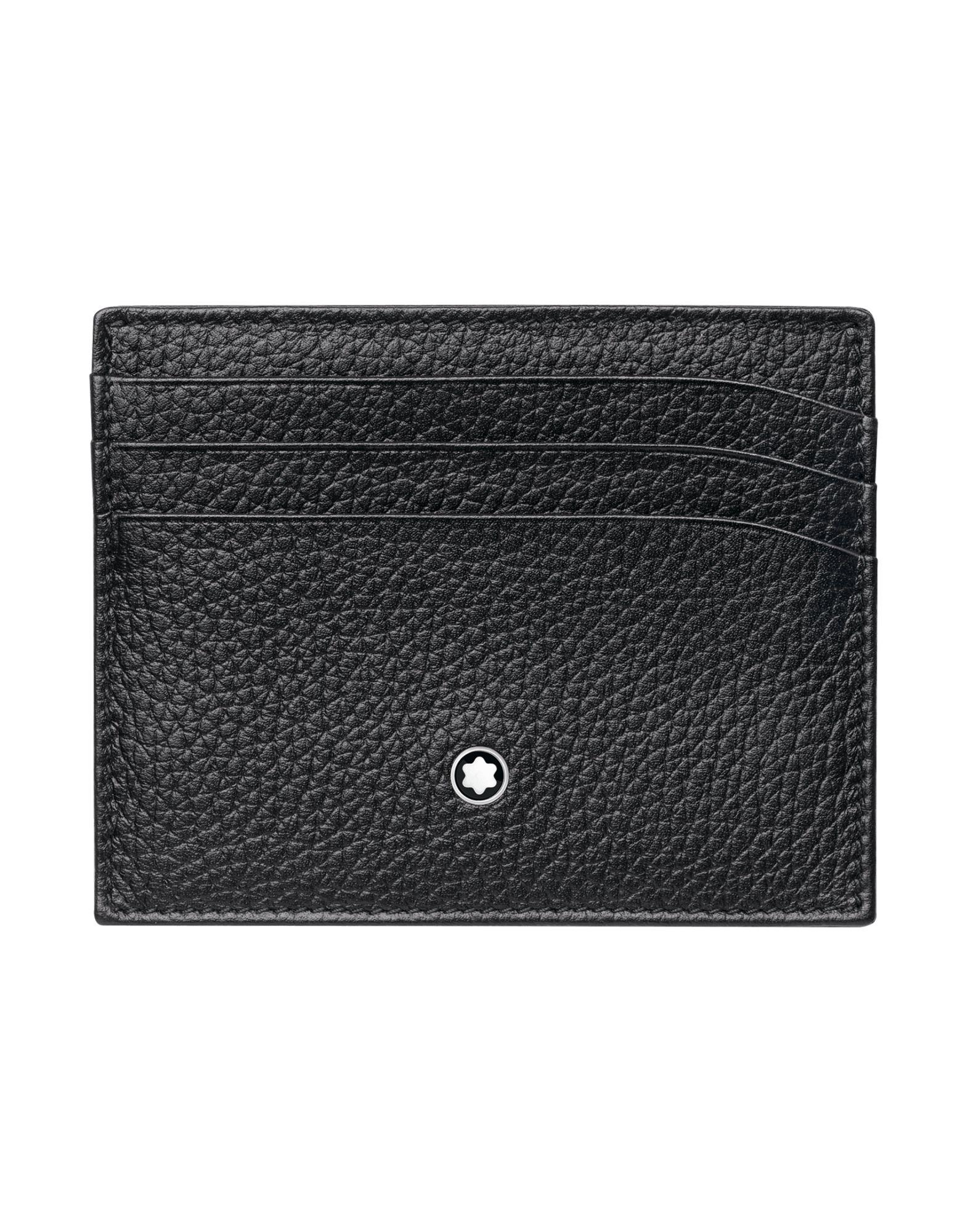 Portafoglio Montblanc Meisterstück Soft Grain Pocket Holder 6Cc Black - Uomo - Acquista online su
