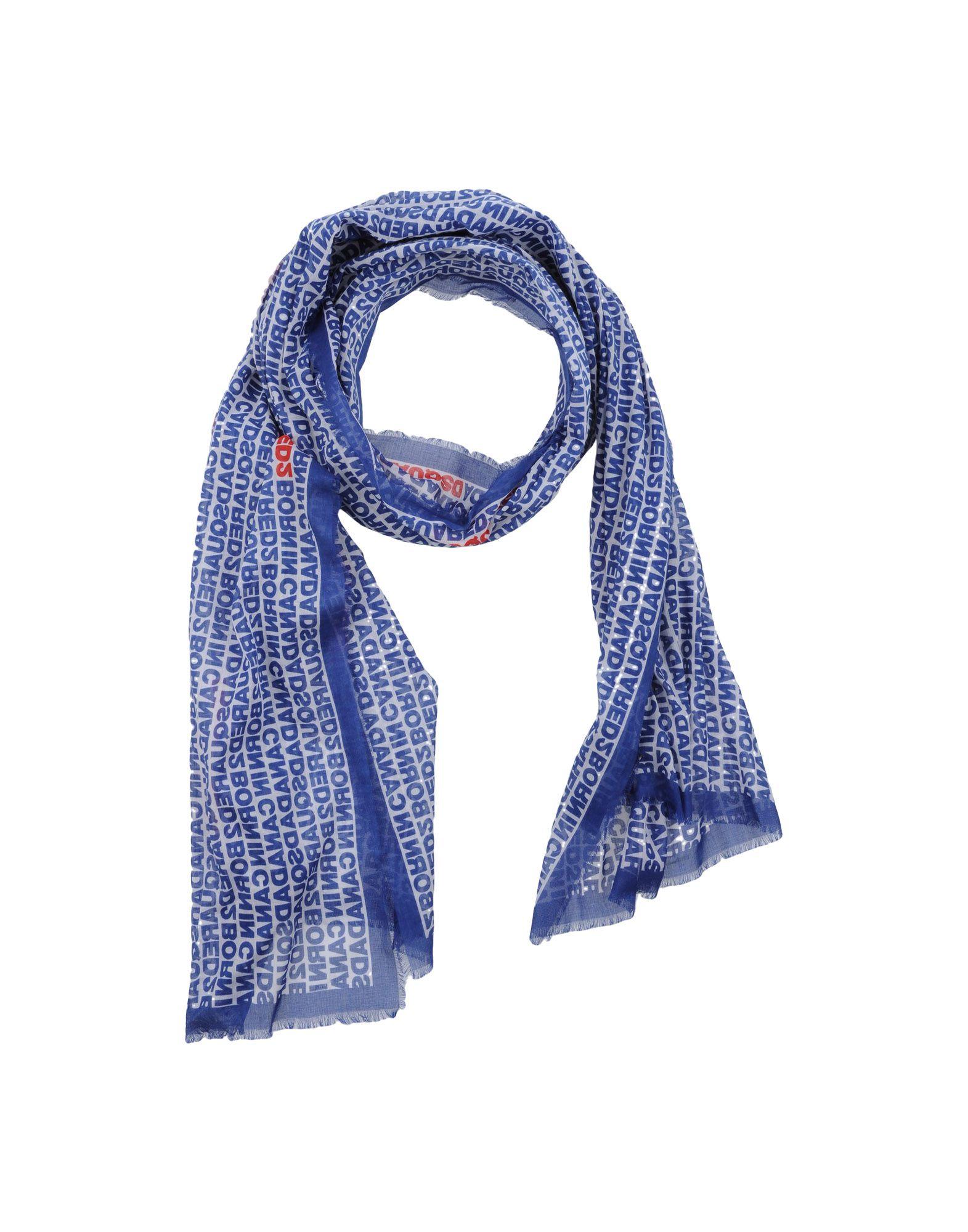 青色スカーフの画像