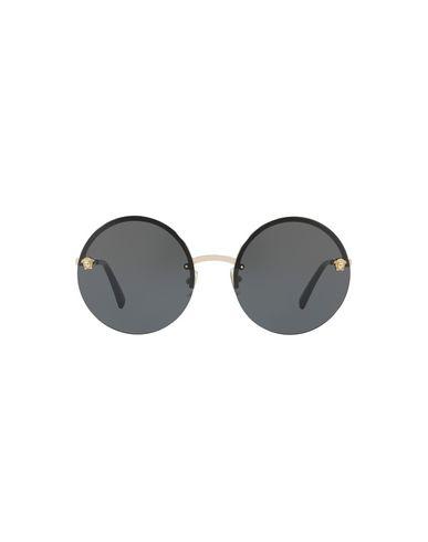 Versace Round Wrap Sunglasses